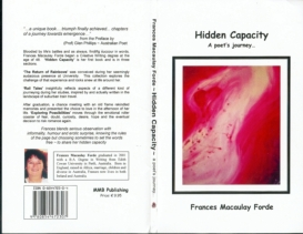 Cover 'Hidden Capacity ~ a poet's journey'