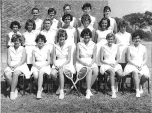 1962KitweGirlsTennisTeam