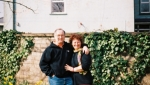 Paudie and Sue Hug in Daffies LS