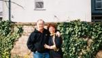 Paudie and Sue Hug in Daffies LS