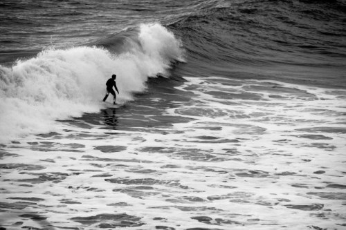 Surfer at Fanore, Co. Clare