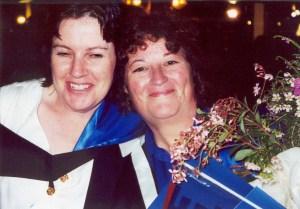 2002Graduation Leonie & Sue