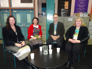 Kate Forsyth, Danielle Wood, Garth Nix, & Wanda Wiltshire at Sydney Writers' Festival 2015