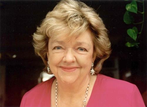 2010 handout of author Maeve Binchy