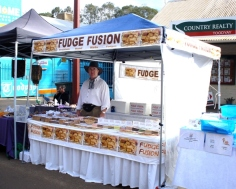 Our Fudge stall